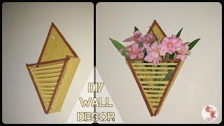 DIY Newspaper Wall Decor    Best from waste    Wall Decor ideas