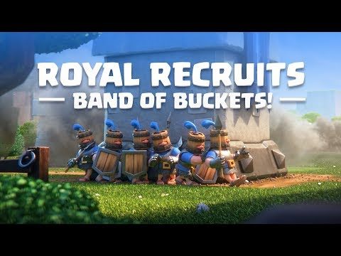 Xxx Mp4 Clash Royale Introducing Royal Recruits New Card 3gp Sex