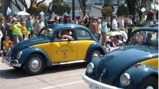 Volkswagen Fusca, PUMA, Jeep - (FullHD) - Desfile 7 de Setembro 2012 em Curitiba