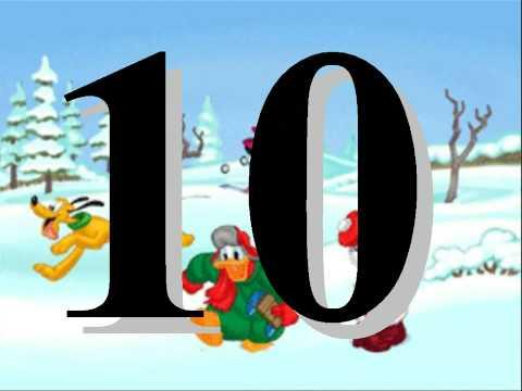 Los numeros del uno al diez 1 10