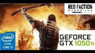 Red Faction Guerrilla Remarstered: GTX 1050 TI 4GB i5 4460