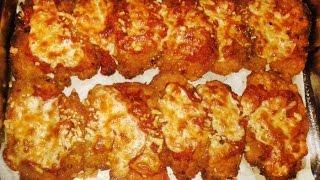 طريقة عمل الفراخ البانيه بالجبنة  مع طاجن مكرونة في الفرن : كرسبي : عبير