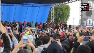 "Kendrick Lamar & Jay Rock perform ""Easy Bake"" at Nickerson Garden Projects"