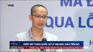 VTV1 - Diễn tập an toàn thông tin mạng trực tuyến quy mô lớn nhất Việt Nam