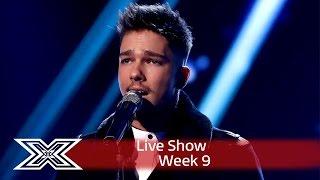 Matt Terry kicks off Christmas Week with Silent Night! | Semi-Final | The X Factor UK 2016