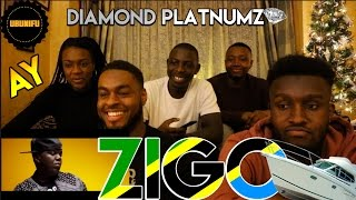 AY feat. Diamond Platnumz - Zigo Remix (UK GUYS REACTION) || @AyTanzania @diamondplatnumz