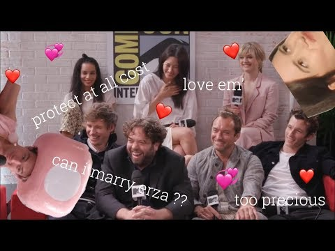 Xxx Mp4 The Fantastic Beasts Cast Are So Cute 3gp Sex