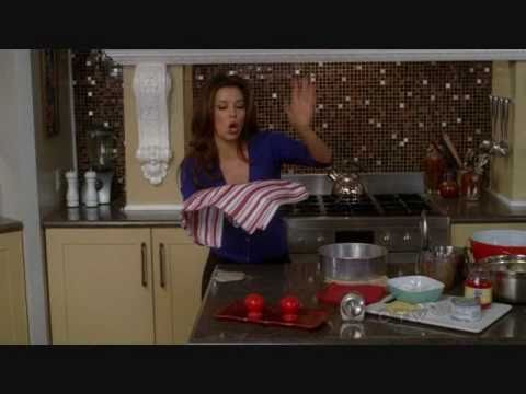 Desperate Housewives - Baking With Gaby (The Pineapple Upside-Down Cake)