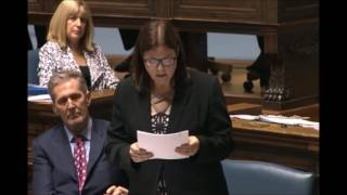 Minister Stefanson introduces the Cannabis Harm Prevention Act