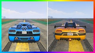 NEW Fastest Super Car In GTA Online? - The MAJOR PROBLEM With All GTA 5 DLC Super Cars & Vehicles!