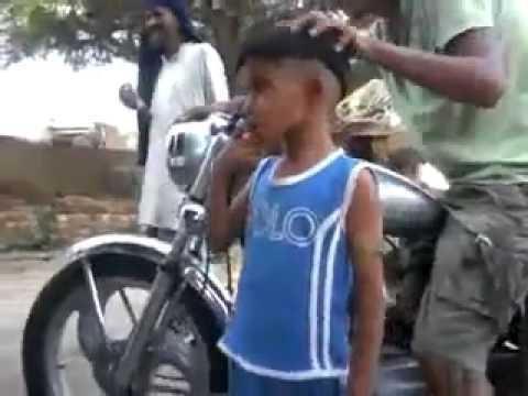 Desi punjabi kid singing funny songs yaar anmule   Video