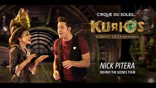 Cirque Du Soleil - KURIOS - Nick Pitera Behind the Scenes Tour
