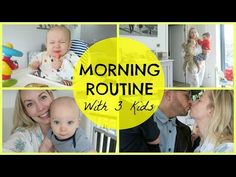 Xxx Mp4 SPRING MORNING ROUTINE WITH 3 KIDS 3gp Sex