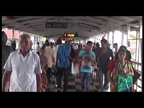 heavy rain mumbai in dahisar station