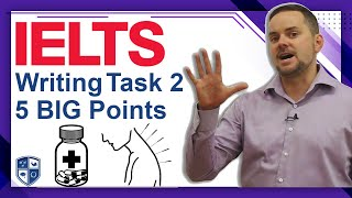 IELTS Task 2 Five Points to Score 7 (with example)