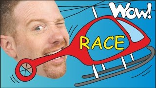 Magic Race for Kids | English Stories for Children | Steve and Maggie | Wow English TV
