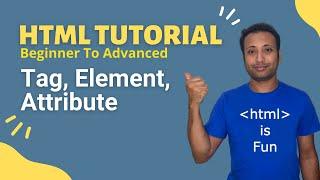 HSC ICT-L4.2 Tag, element & attribute Bangla HTML Tutorial