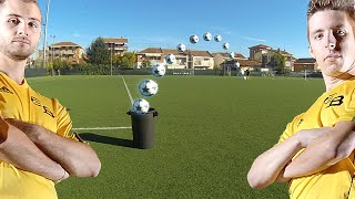 ZAPINHO VS DIGINHO CESTINO CHALLENGE - Amazing Shot 39m