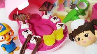 콩순이 와 뽀로로 아기하마 양치놀이 치과 의사 병원놀이 장난감 baby doll Pororo baby hippo brushing dentists play toys hospital