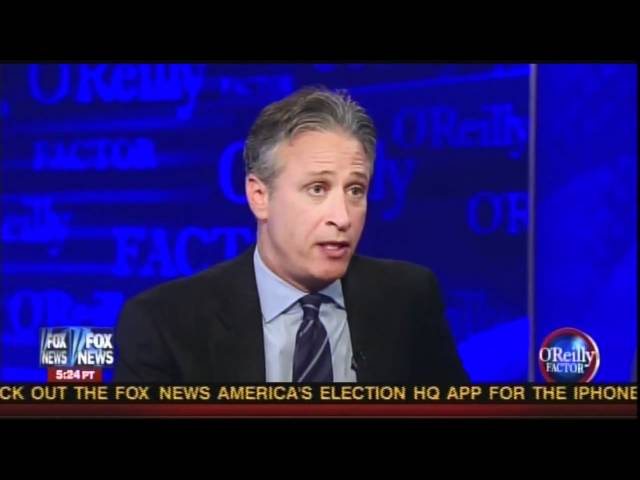 Jon Stewart does The O'Reilly Factor again