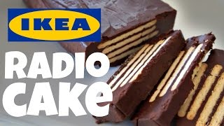 IKEA RADIO No-Bake CAKE Recipe Test   FIka Cookbook