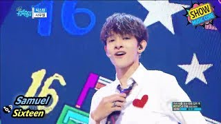 [HOT] Samuel - Sixteen, 사무엘 - 식스틴 Show Music core 20170826
