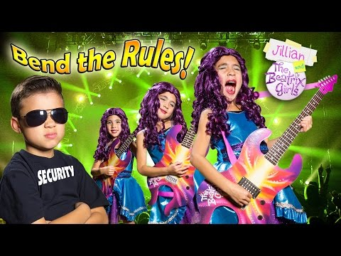 BEND THE RULES Music Video ft. EvanTubeHD & The Beatrix Girls