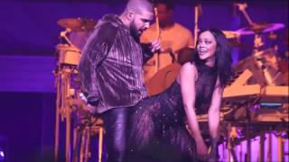 ANTI World Tour Work Drake is Rihanna's Special Guest in Miami HD