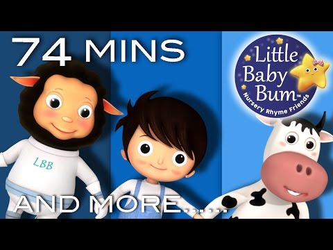 Little Boy Blue | Plus Lots More Nursery Rhymes | 74 Minutes Compilation from LittleBabyBum!