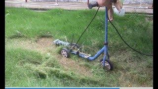 DIY lawn mower / Grass cutter / Grass Trimmer