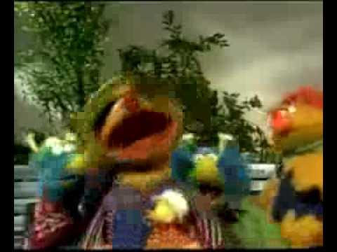 Sesamstraat The Honker Duckie Dinger Jamboree