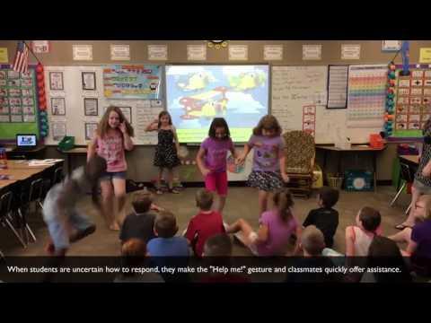 Whole Brain Teaching Study Video:  Five Step Lesson: Second Grade: Pronouns