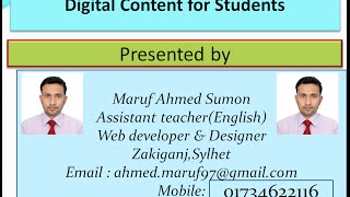 Learn English Grammar In Bengali :; Preposition