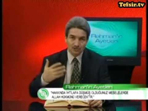 Hac Suresi Kuran Tefsiri 65-72 Ayetler Prof.Dr. Şadi Eren