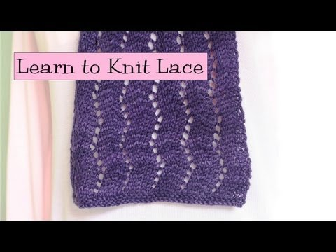 Learn to Knit Lace Parts 1 5