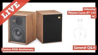 Wharfedale Denton 85th Anniversary Unboxing | Phiaton Curve BT 120 NC | Q&A