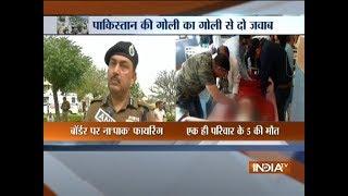 Pakistan shelling kills 5 civilians in Jammu and Kashmir