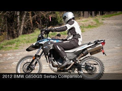 MotoUSA Comparison 2012 BMW G650GS Sertao