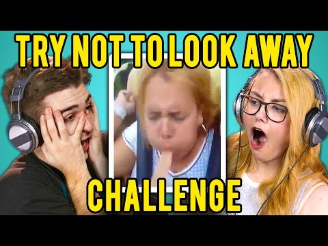 Xxx Mp4 ADULTS REACT TO TRY NOT TO LOOK AWAY CHALLENGE 3gp Sex