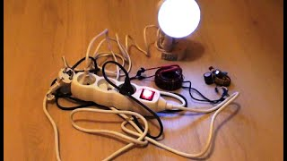 Free Energy Generator for light bulb