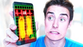 TRYING A LIE DETECTOR!!