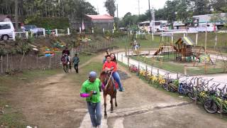 Horse riding in tandem :)