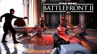 Star Wars Battlefront 2 - NEW GAMEPLAY! ALL WEAPONS FROM EVERY CLASS!