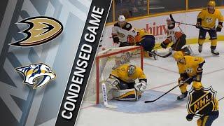 03/08/18 Condensed Game: Ducks @ Predators
