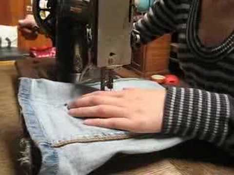 HOW TO make jeans skinny