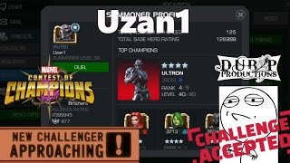 Marvel Contest of Champions: RizzoTheLegend VS Uzan1