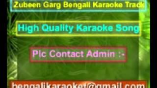 Mon Mane Na Karaoke Title Song Zubeen Garg