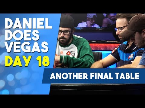 Another Final Table $10K HORSE Playing For $380K and Bracelet #7 - WSOP VLOG DAY 18