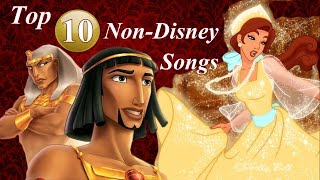 Top 10 Best Non-Disney Songs {of all time}