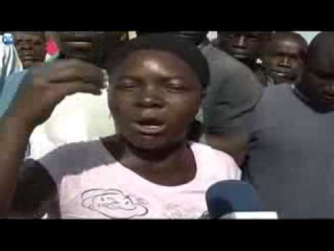 Angry Woman From KENYA